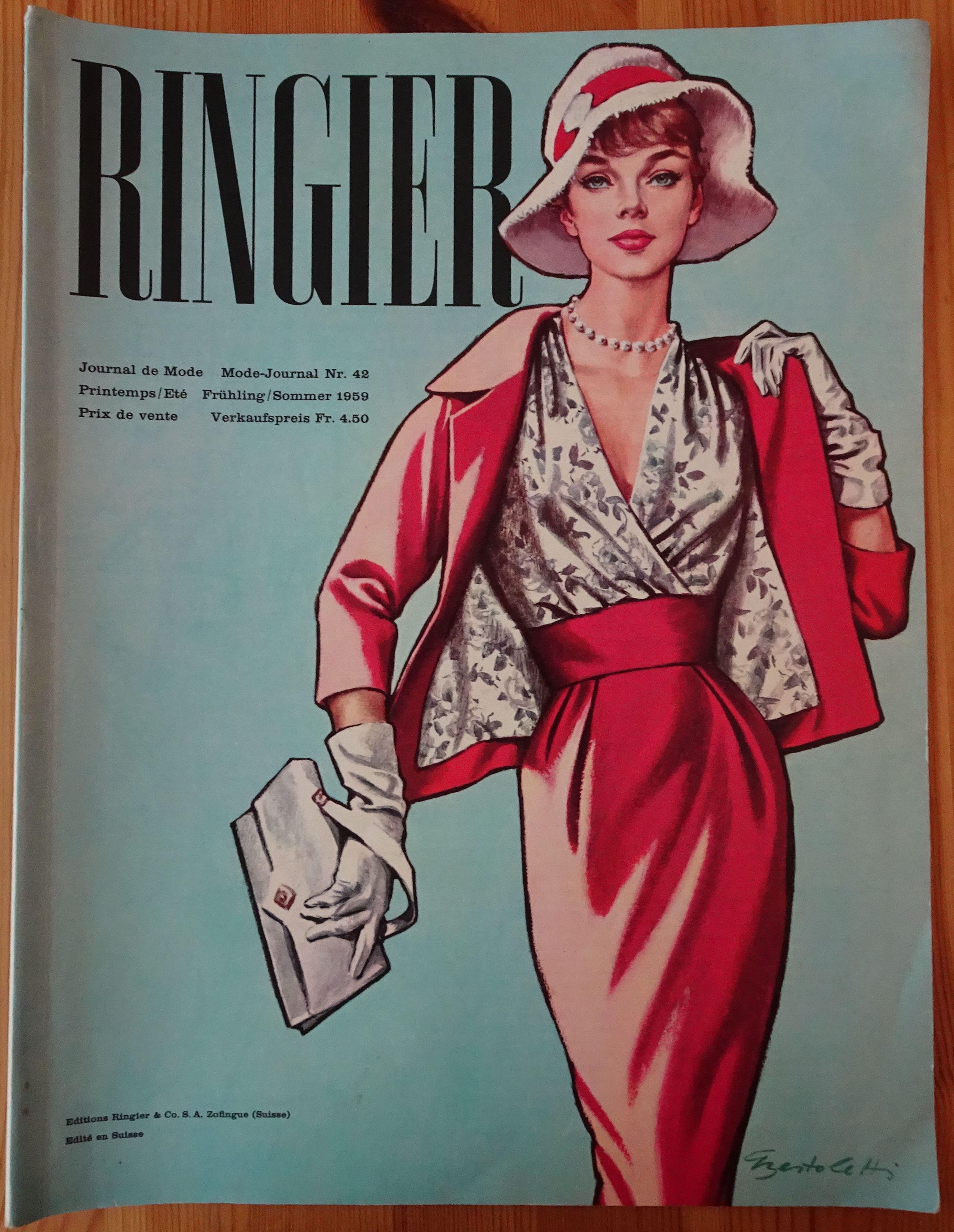 Ringier Journal de Mode Spring/Summer 1959