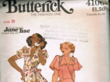 Butterick 4100 A