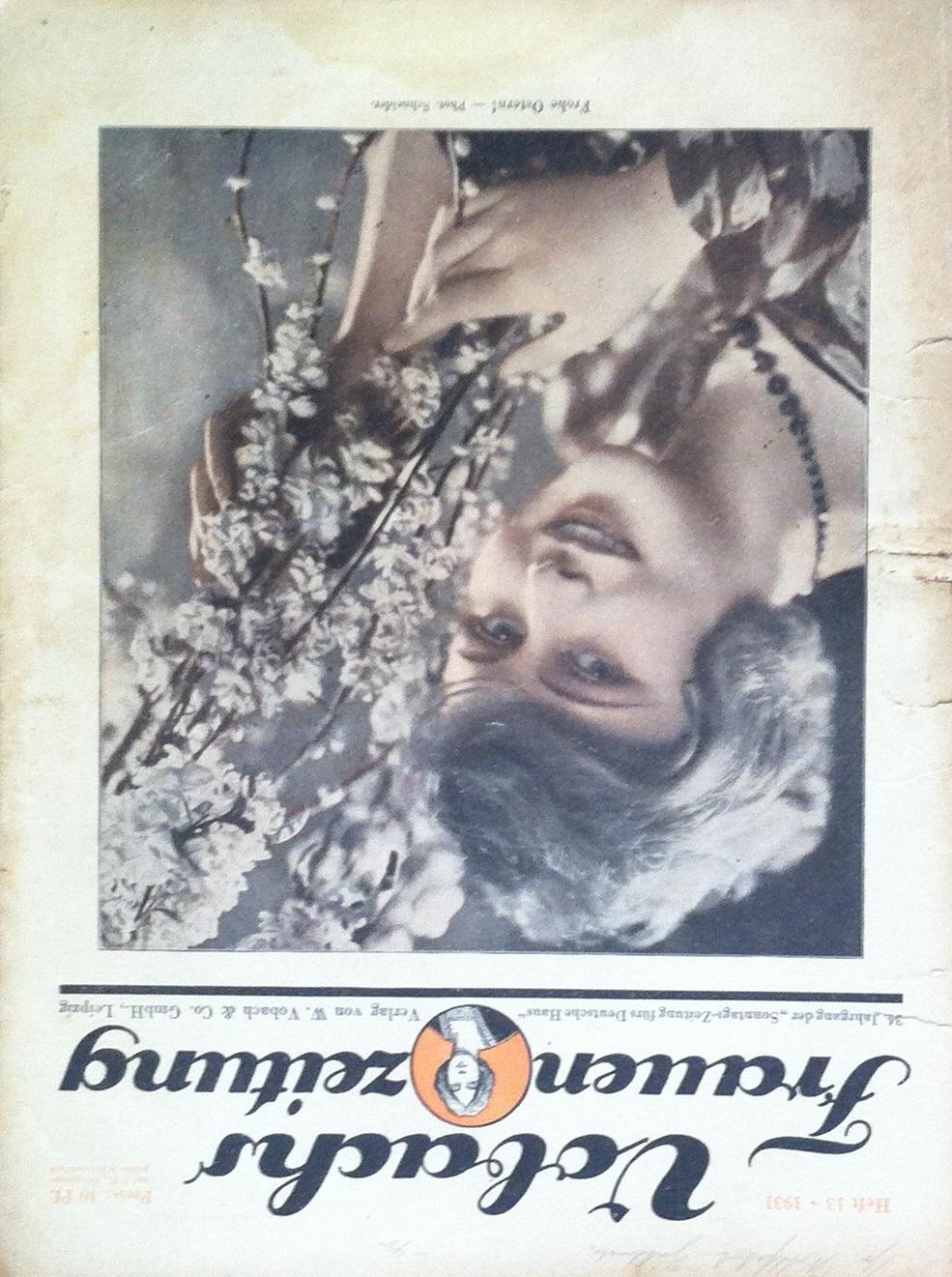 Vobachs Frauenzeitung No. 13 Vol. 34 1931