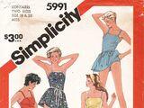 Simplicity 5991 A