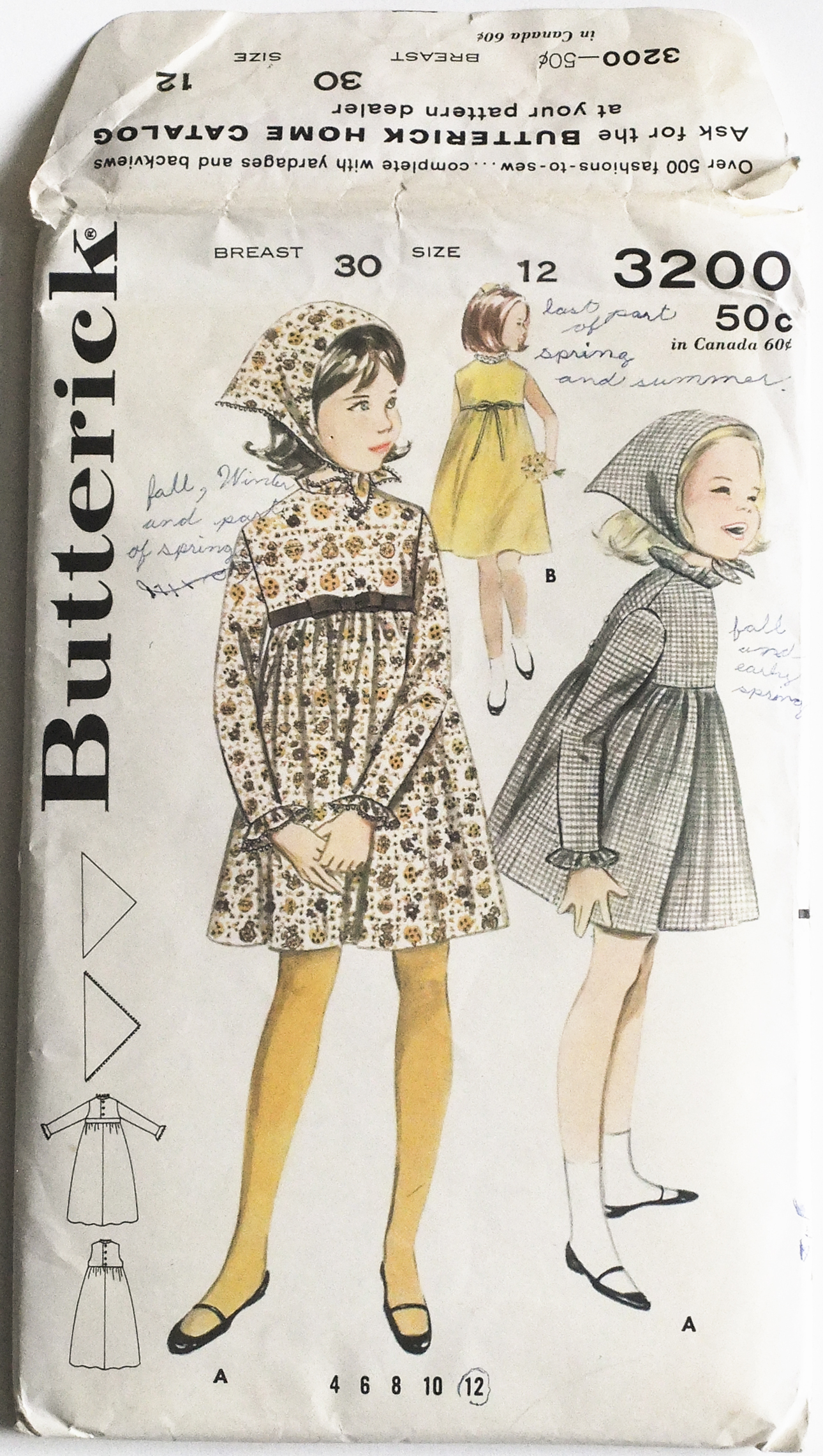 Butterick 3200