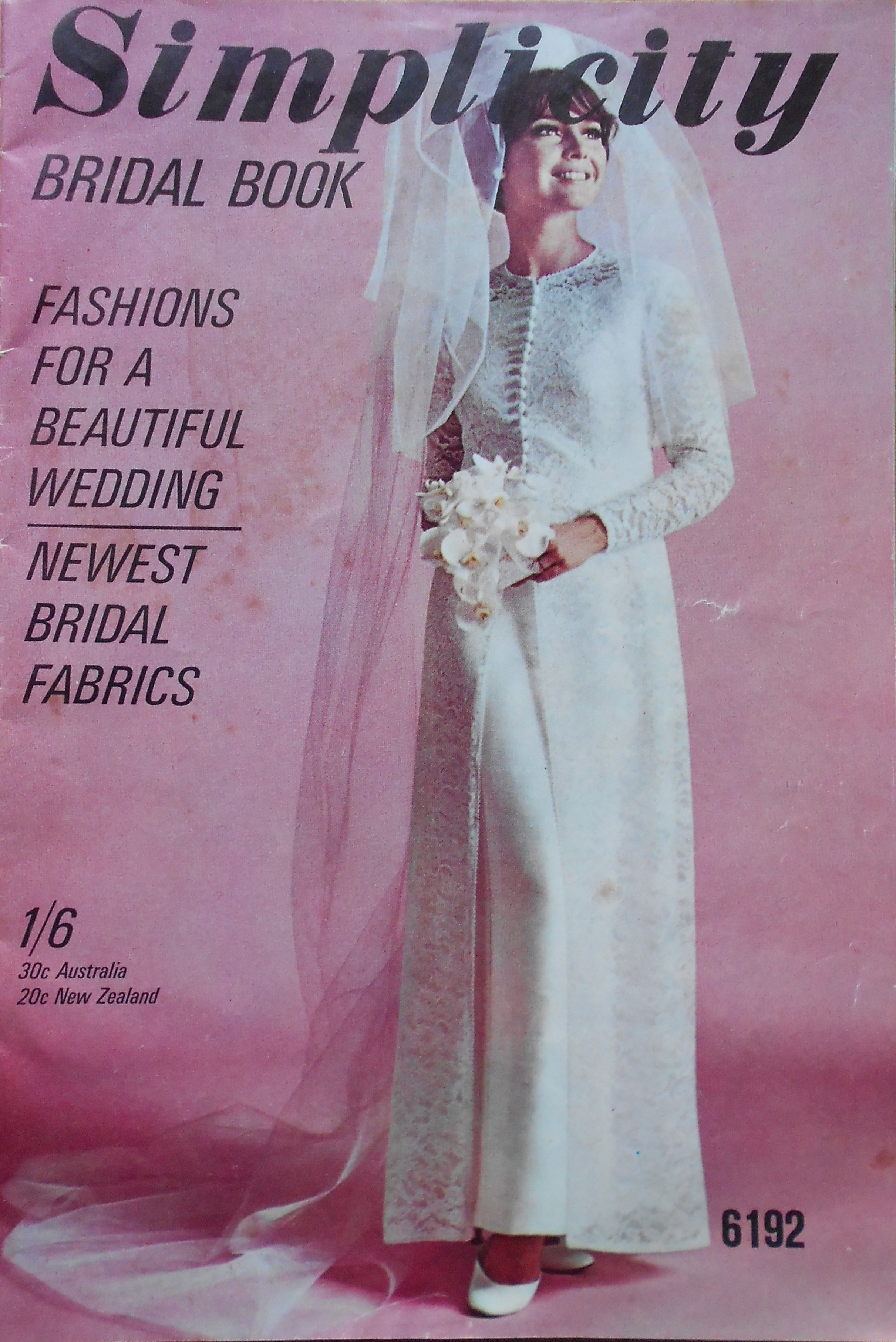 Simplicity Bridal Book 1967