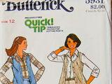 Butterick 5931 A