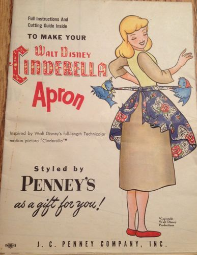 Walt Disney Cinderella Apron