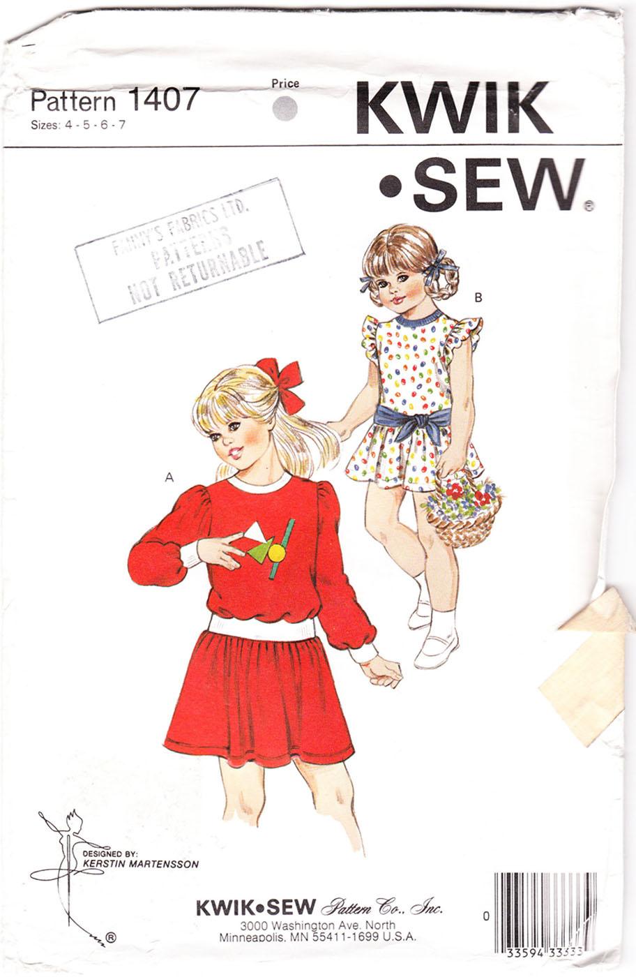 Kwik Sew 1407