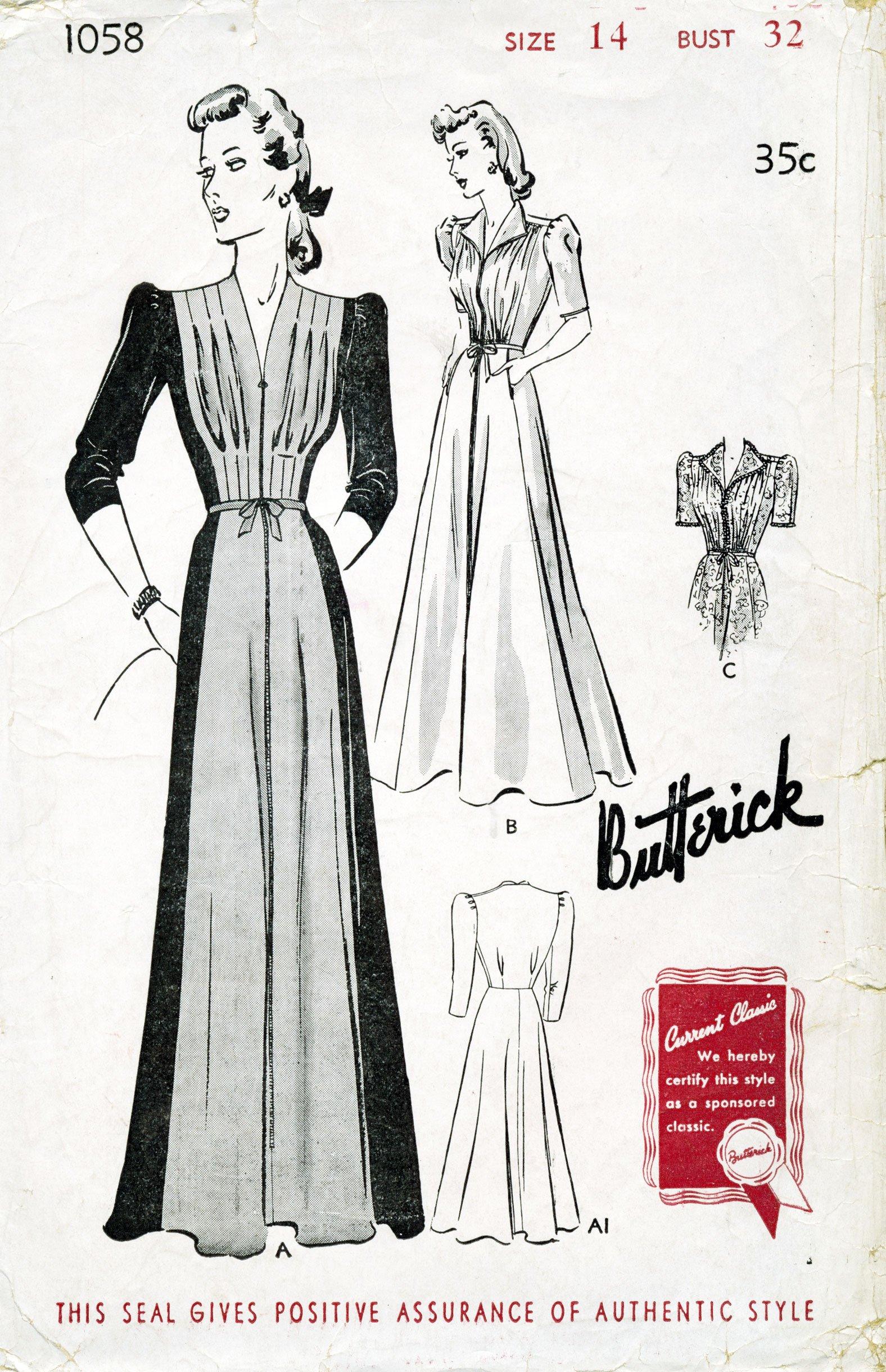 Butterick 1058