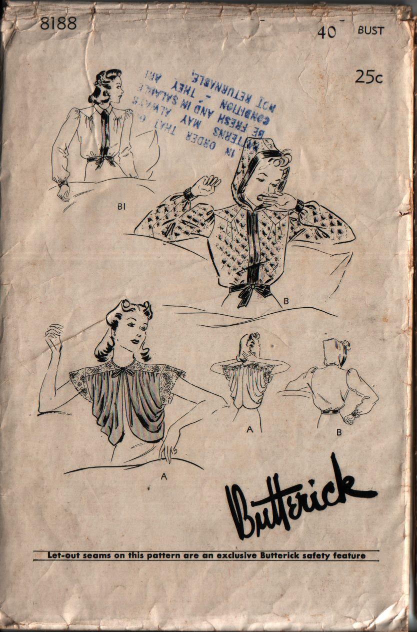 Butterick 8188