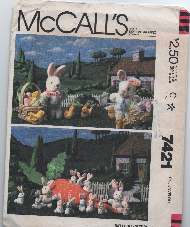 McCall's 7421 A