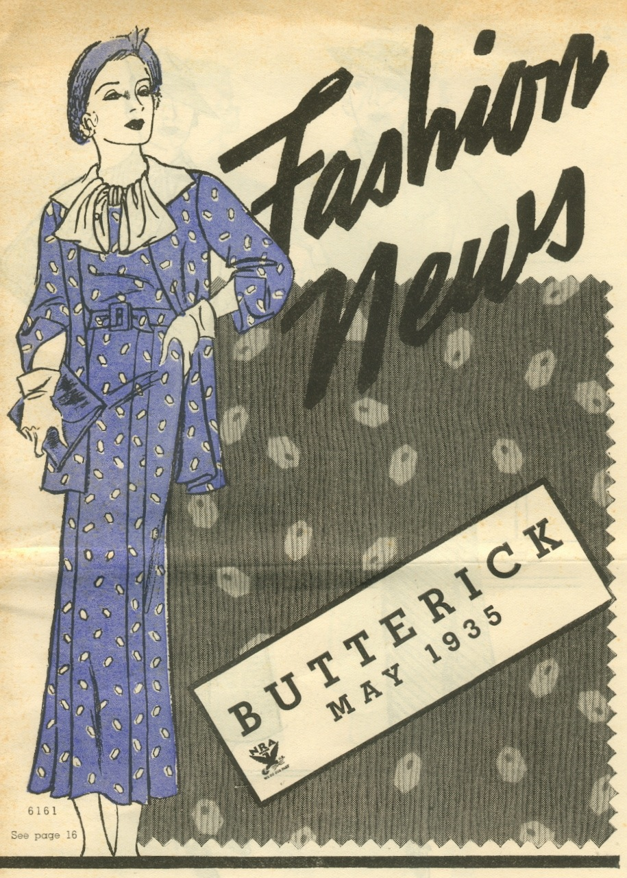 Butterick Fashion News May 1935