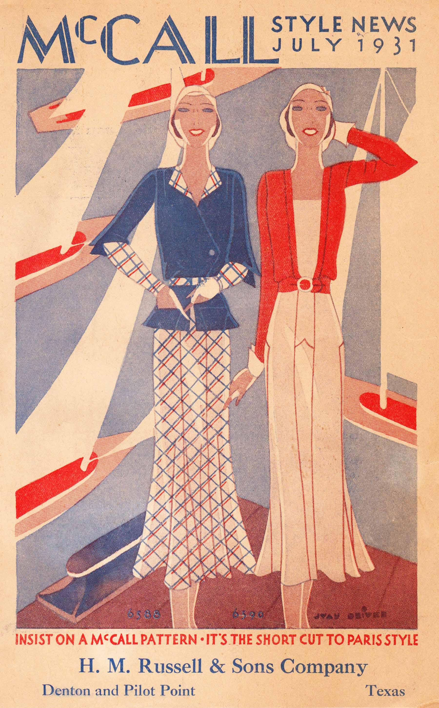 McCall Style News July 1931