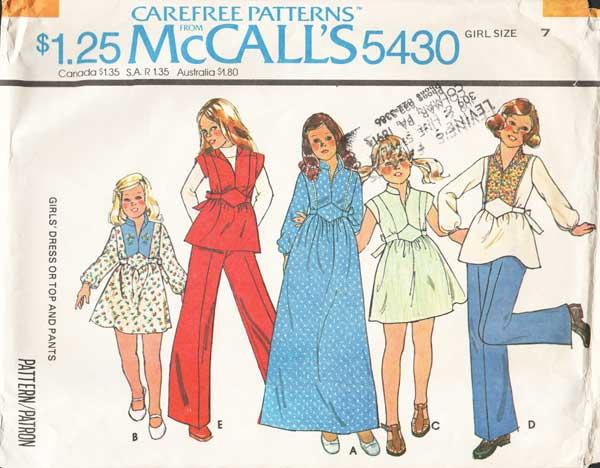 McCall's 5430