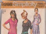 Simplicity 9298