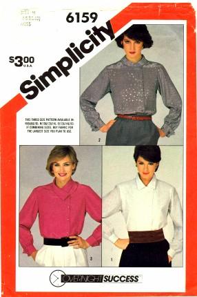 Simplicity 6159 A