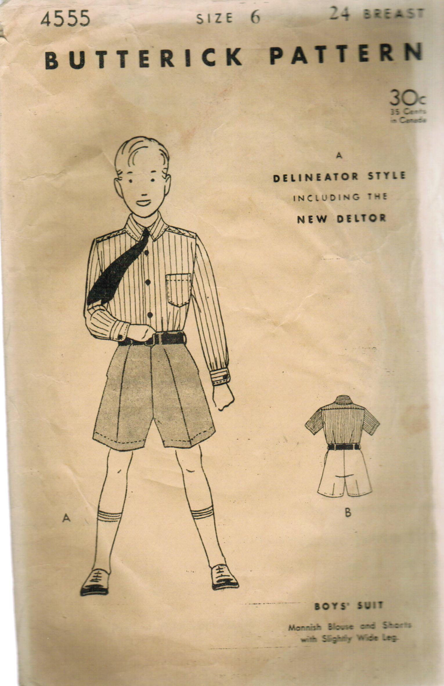 Butterick 4555 A