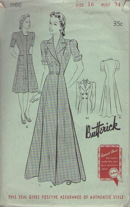 Butterick 1166