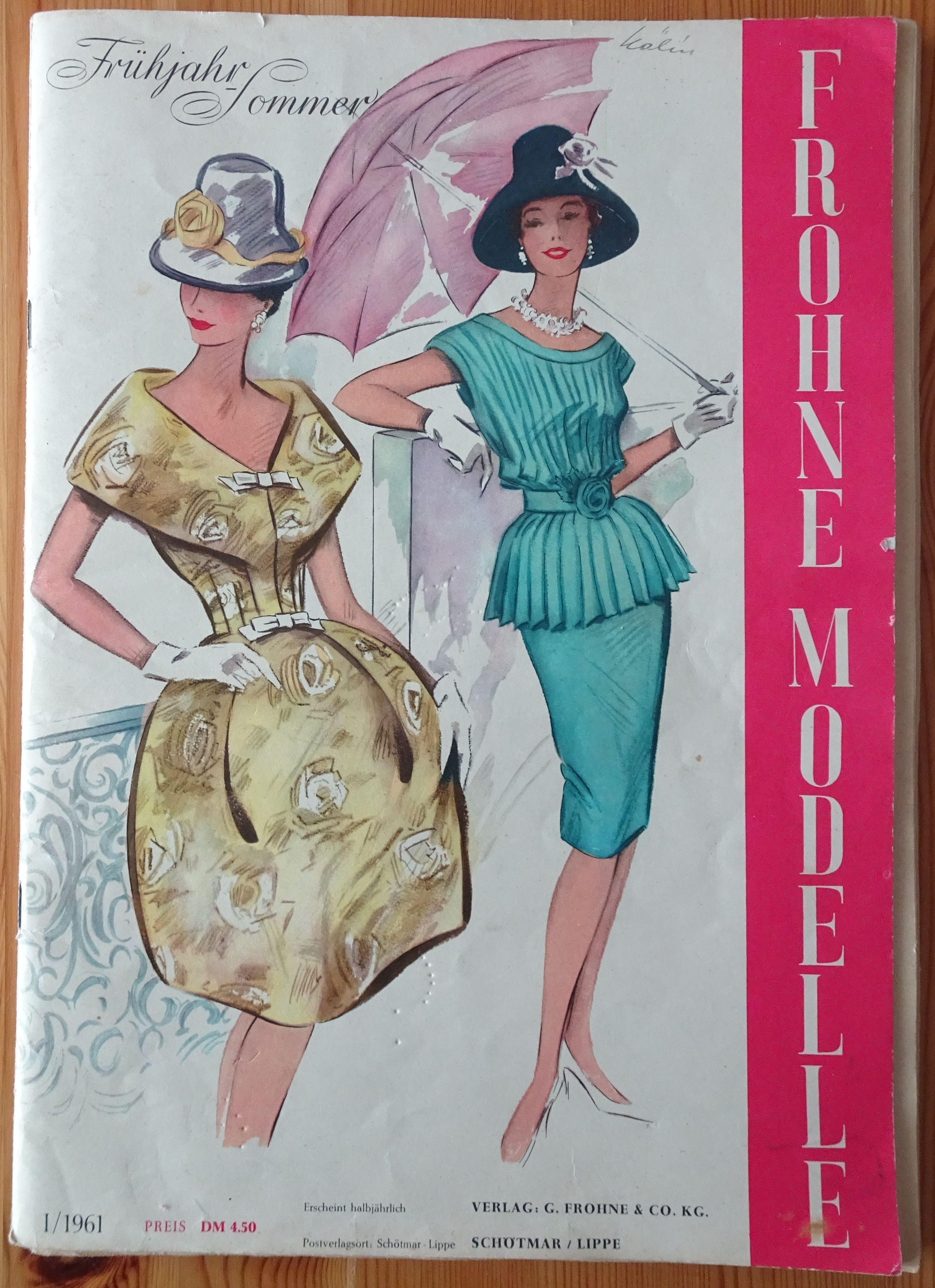 Frohne Modelle 1/1961