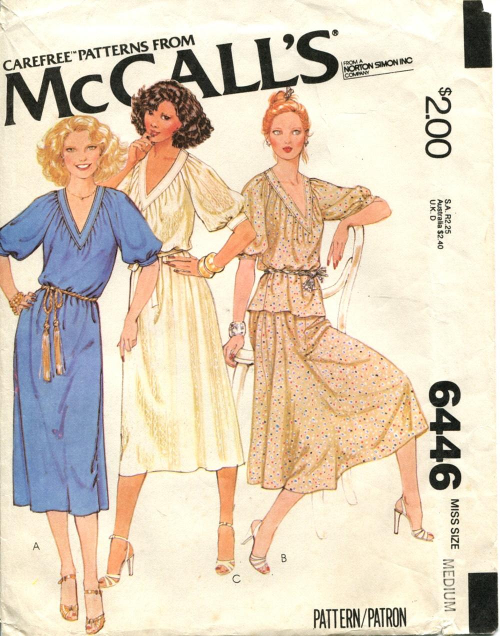 McCall's 6446
