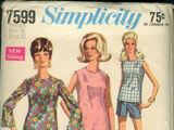 Simplicity 7599