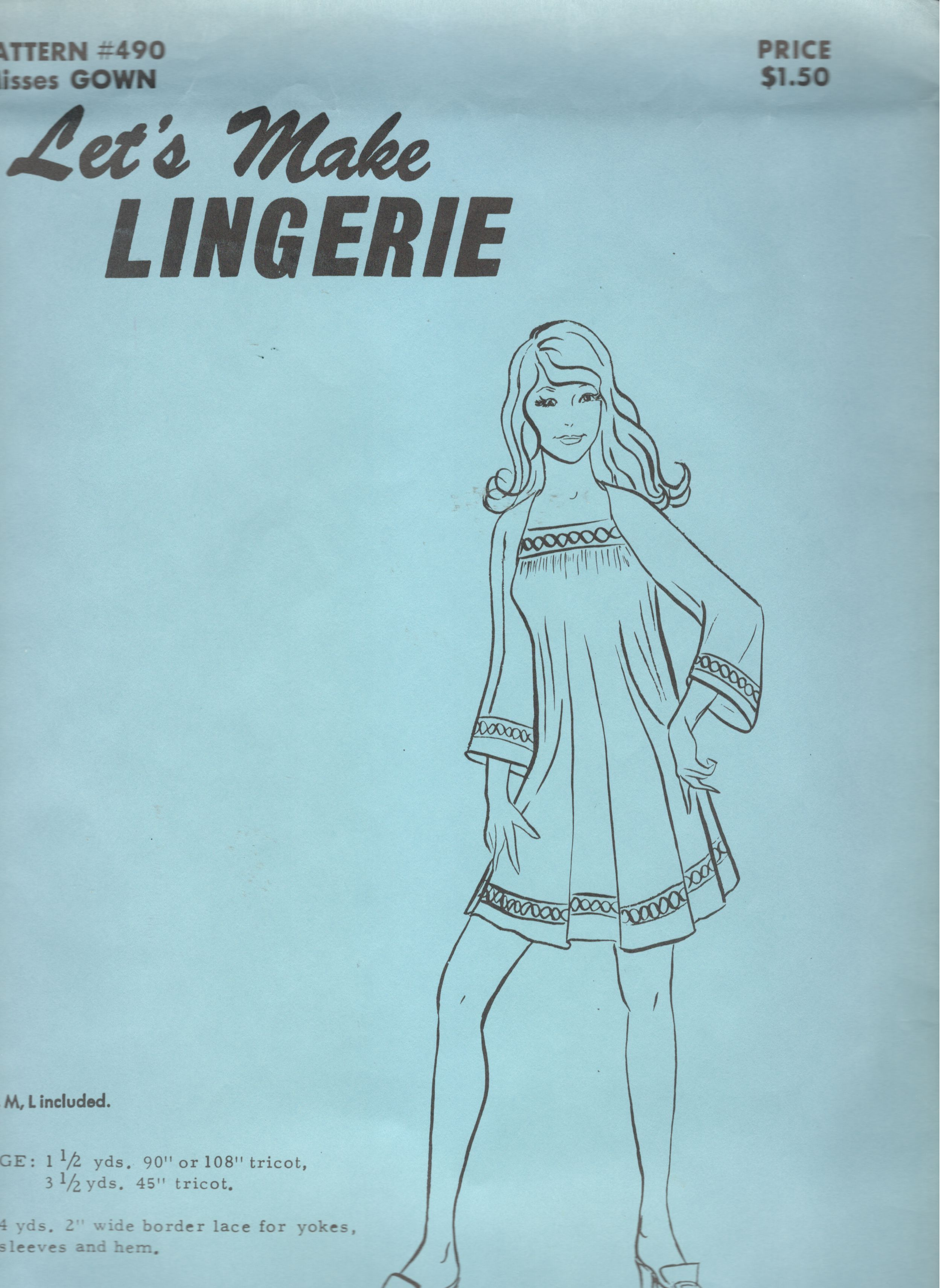 Let's Make Lingerie 490