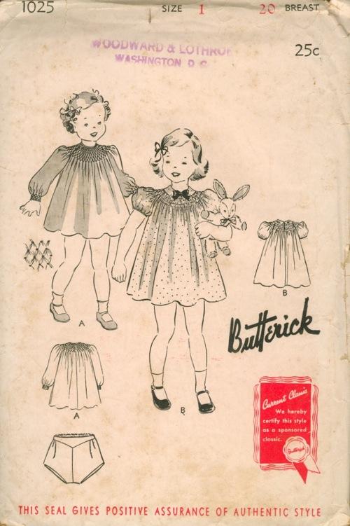 Butterick 1025