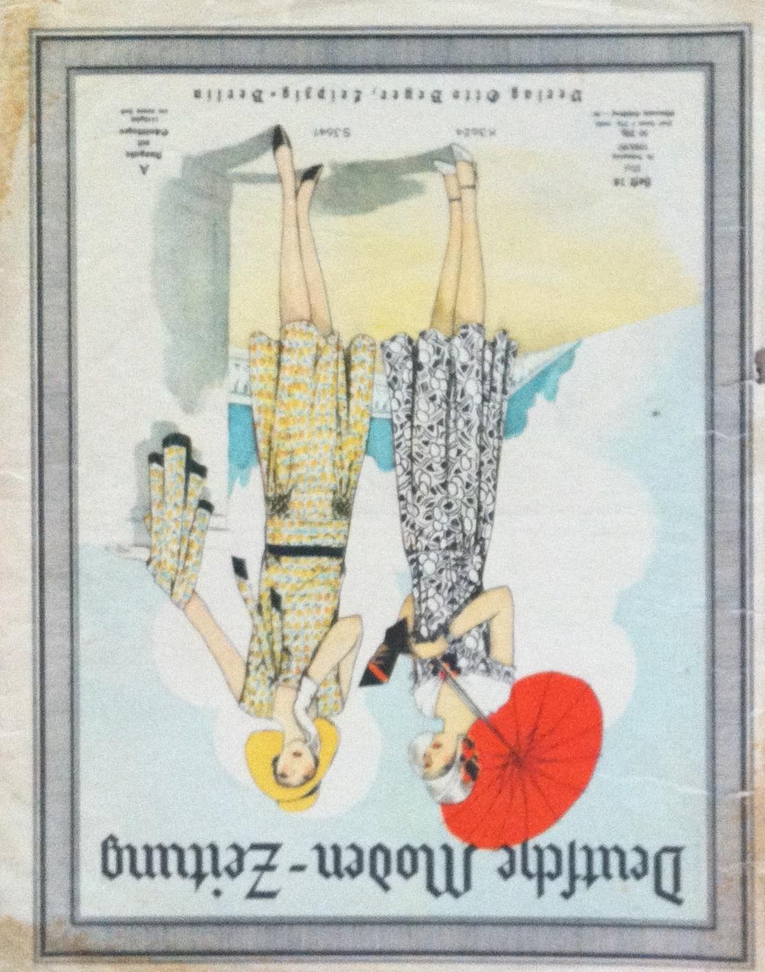 Deutsche Moden-Zeitung No. 18 Vol. 38 1928/29
