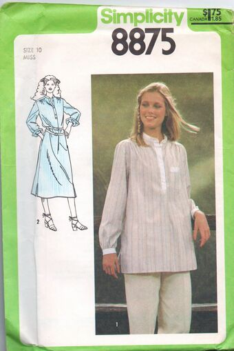 Simplicity 8875 Misses/' Top and Cardigan    Sewing Pattern