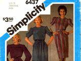 Simplicity 6437 A