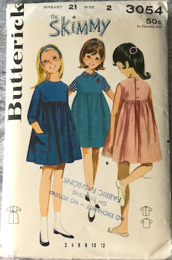 Butterick 3054 D