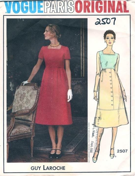 Vogue 2507 A