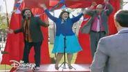 """Violetta 3 - Olga, Beto y Ramallo cantan """"En Gira"""" (Ep 66) Letras HD"""