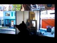 Kitten thinks he is playing call of duty black ops - cute