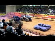 Advance Auto Parts Monster Jam and Freestyle Mania 2011, part 1