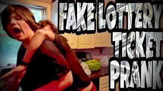 FAKE_LOTTERY_TICKET_PRANK_ON_WILLIAM!!!