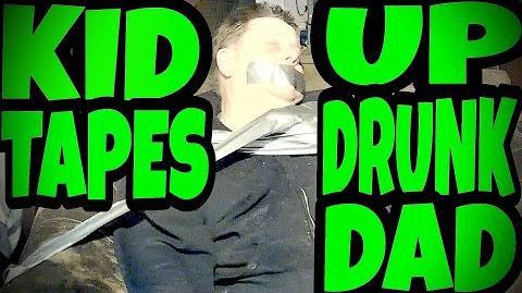 KID TEACHES DRUNK DAD A LESSON!!!