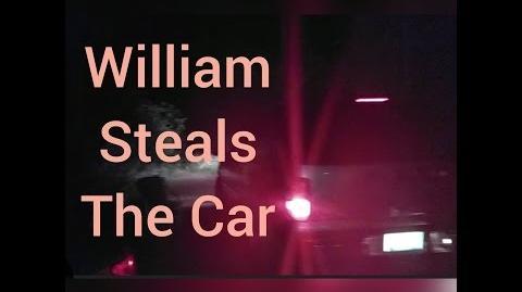 WILLIAM STEALS THE CAR