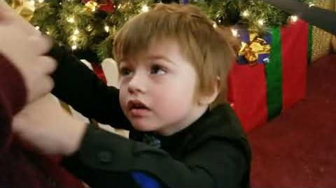 ZACHARY HAS A MELTDOWN BECAUSE HE HATES SANTA CLAUS!!!
