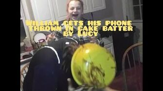 LUCY_THROWS_WILLIAMS_PHONE_IN_CAKE_BATTER