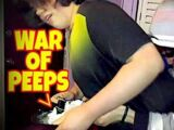 WILLIAM AND ANDY IN THE WAR OF THE PEEPS!!!