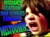 WILLIAM'S MAN PUNCHES KANGAROO REACTION...MELTDOWN!!!