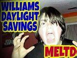 WILLIAM'S DAY-LIGHT SAVINGS MELTDOWN!!!