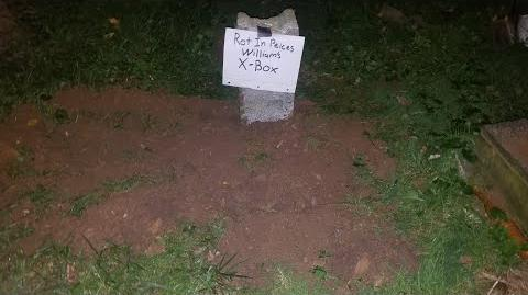 AVENGING DAD BURIES SONS XBOX!!!