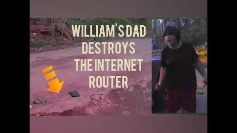 BILL CHAINSAWS THE ROUTER!!!