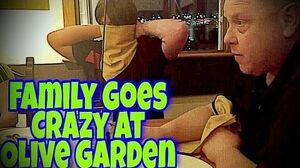 VIOLETTE1ST_FAMILY_GOES_CRAZY_IN_OLIVE_GARDEN!!!