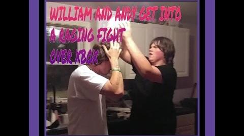 WILLIAM AND ANDY GET INTO A RAGING FIGHT OVER XBOX
