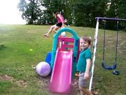 Lucy and William - Jump!