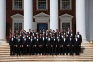 2009 Glee Club group photo