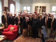VGC with Pres Sullivan 12-11-14