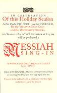 Messiah sing-in 1993