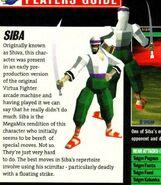 Siba magazine page