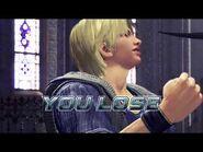Virtua Fighter 5 Ultimate Showdown - Lion Rafale (Game Over & Continue)